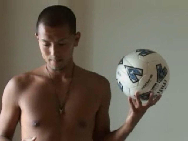 すっきり坊主のサッカー青年のイメージ撮影 エロ  61pic 45