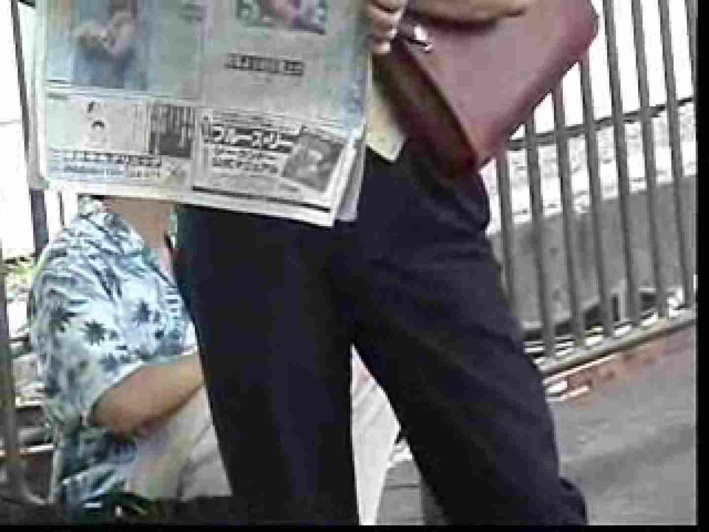 電車内でリーマンの股間撮影 スーツ  57pic 5