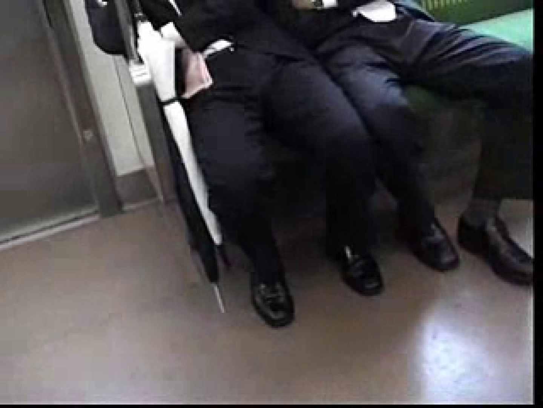電車内でリーマンの股間撮影 スーツ  57pic 7