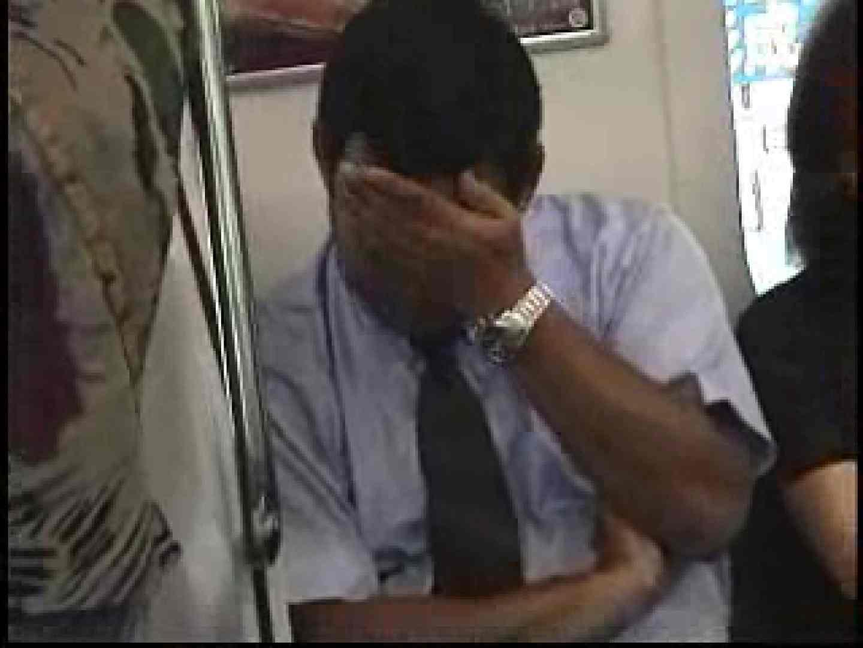 電車内でリーマンの股間撮影 スーツ  57pic 13