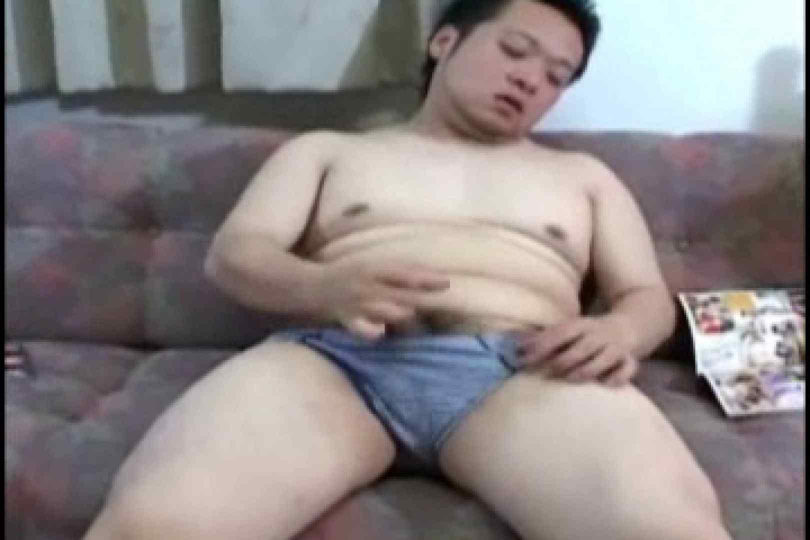 小太りボーイの孫の手オナニー ローション  71pic 44