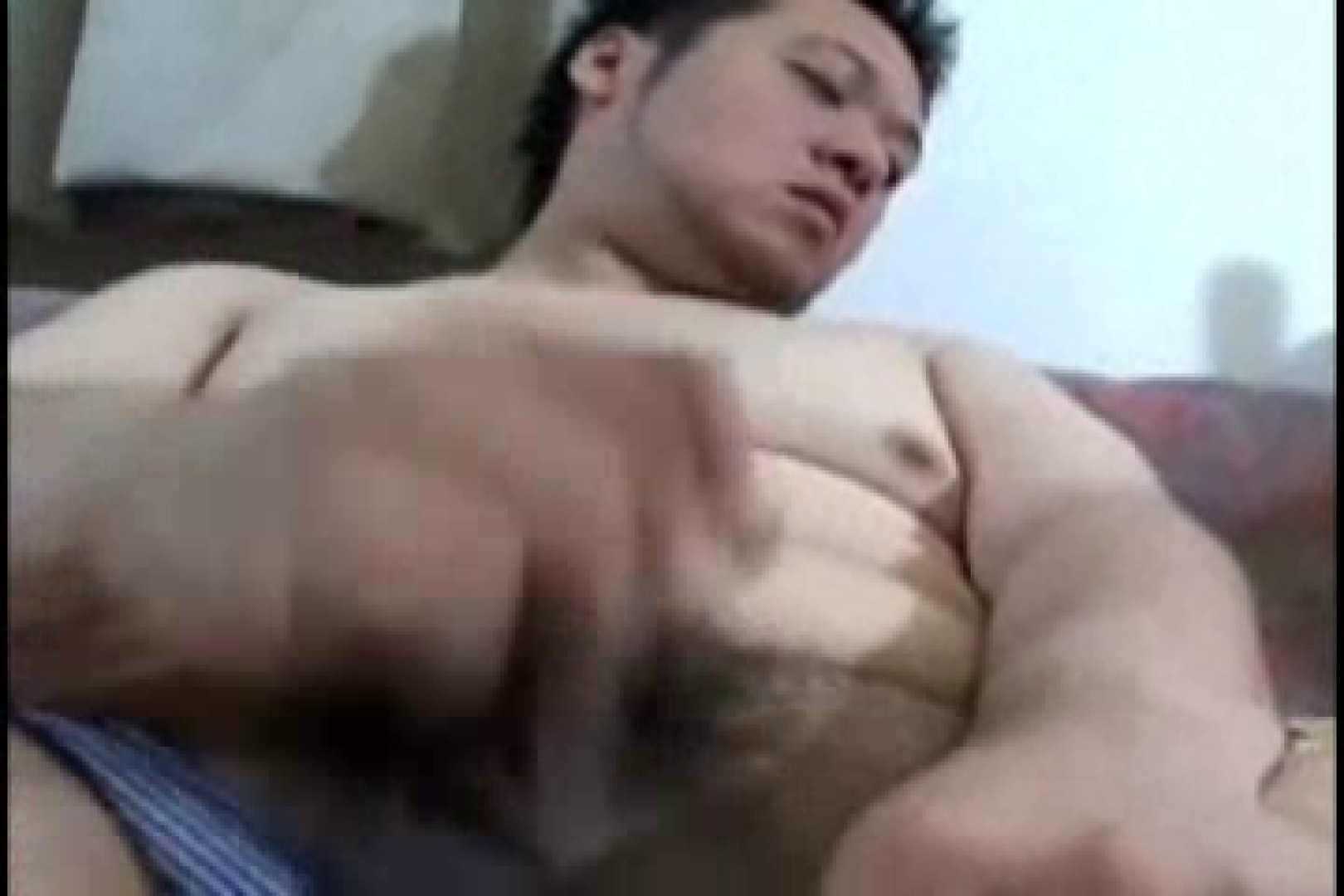 小太りボーイの孫の手オナニー ローション  71pic 49