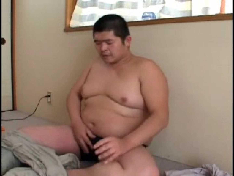 デブ男子の自慰行為!ポチャ汁ドピュ! 手コキ  77pic 40