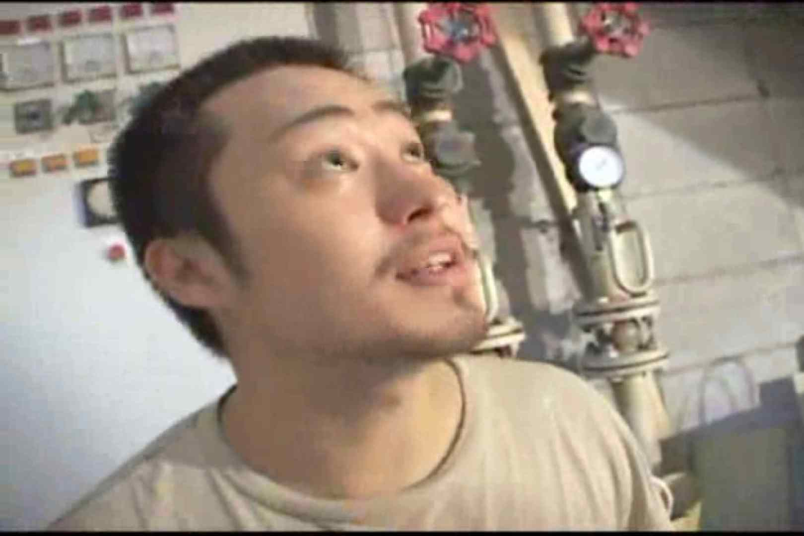 機械室で体育会系男子を手コキ&フェラ!! ガチムチ  96pic 3