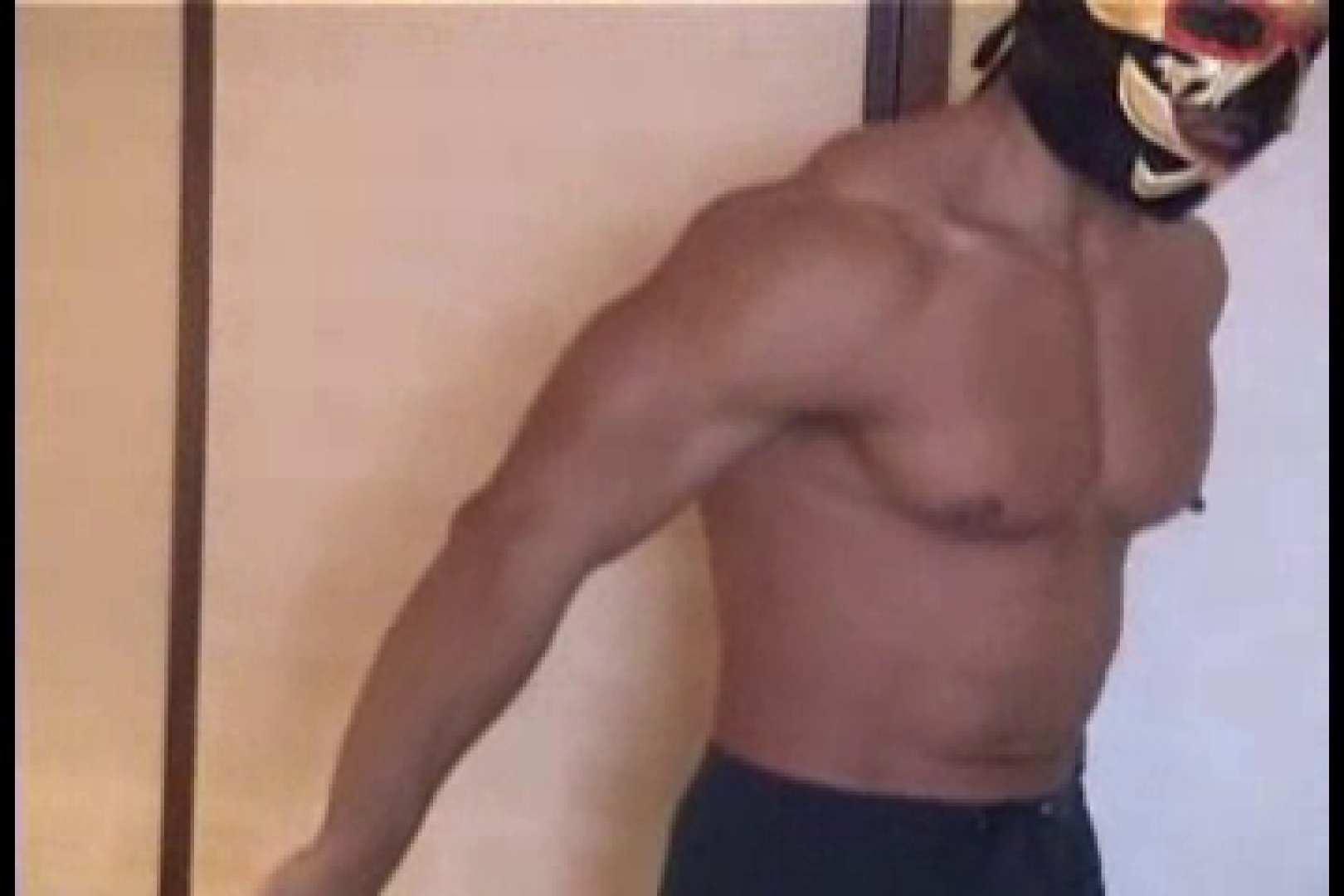 性器の味方ムキムキ覆面マッチョマン 男  60pic 1