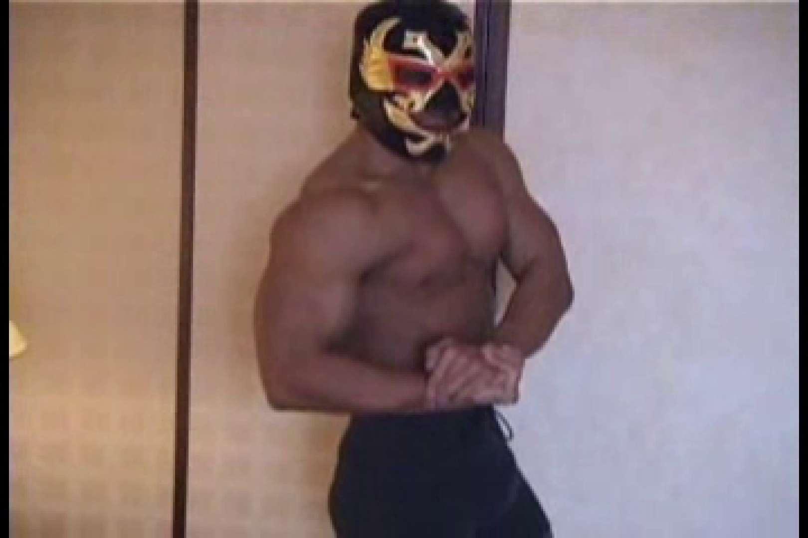 性器の味方ムキムキ覆面マッチョマン 男  60pic 2