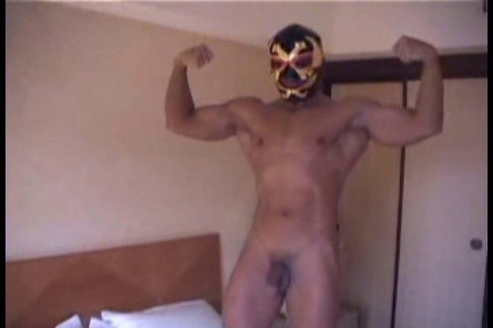 性器の味方ムキムキ覆面マッチョマン 男  60pic 12