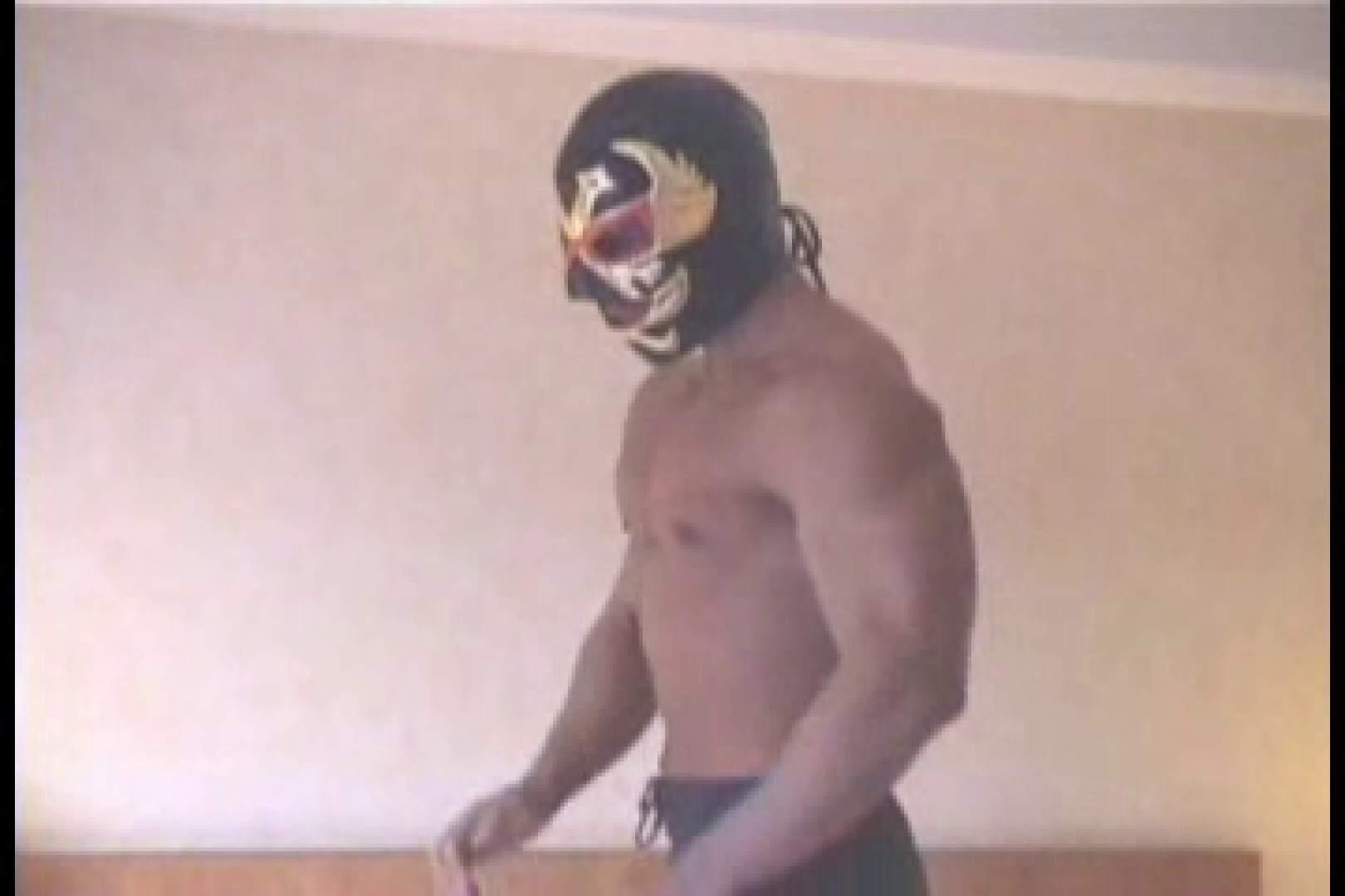 性器の味方ムキムキ覆面マッチョマン 男  60pic 26